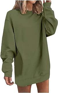 Sudadera con Capucha y suéter de Manga Larga con Bolsillo de Color sólido para Mujer, otoño, Ropa de Abrigo Superior