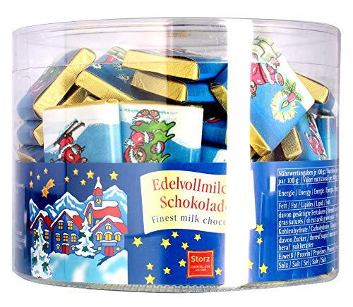 Storz - Täfelchen Weihnachts-Puzzle Schokolade - 100St/0,5kg