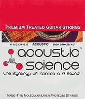 Acoustic Science アコースティックギター弦 80/20 Bronze エクストラライト LACSAG1150