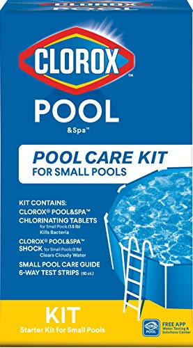 Clorox Pool&Spa Pool Care Kit for Small Pools (Packaging may vary)