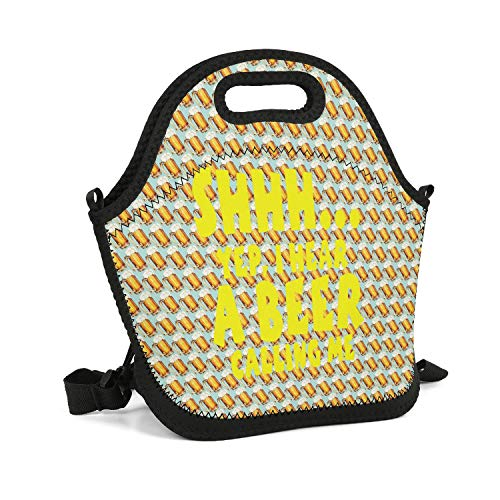 GFHHFFBDF I Have a Beer Calling Me Cooler Thermos Wild Gift Best Backpack Heavy Duty Zipper Large Space Lunch Box Bag for Boys Girls Kids