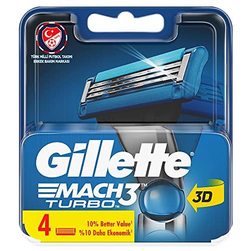 Varios - Gillette mach3 turbo cargador 4u,