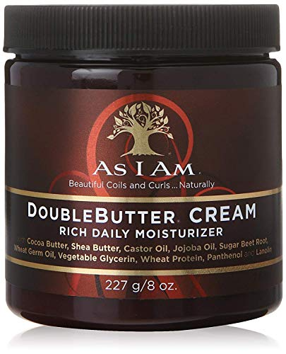 As I Am Double Butter Cream, 8 oz (Pack of 2)