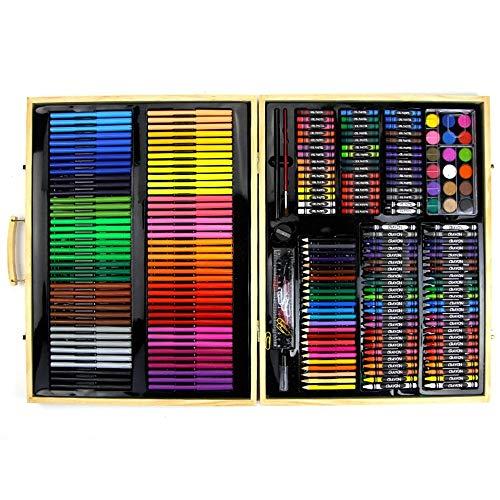 ZYL-YL 251 Conjunto de los niños Pintura Pintura de Madera Caja de Herramientas portátiles Fuentes del cumpleaños del Regalo del Arte for el Dibujo