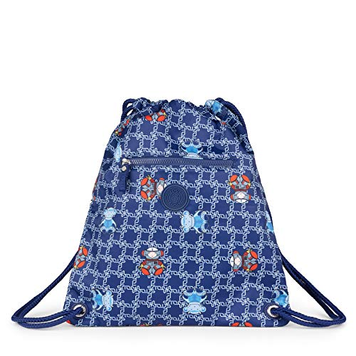 TOUS Mochila School Logogram Color Azul