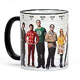 Big Bang Theory Tasse Kaffeebecher rundum Bedruckt