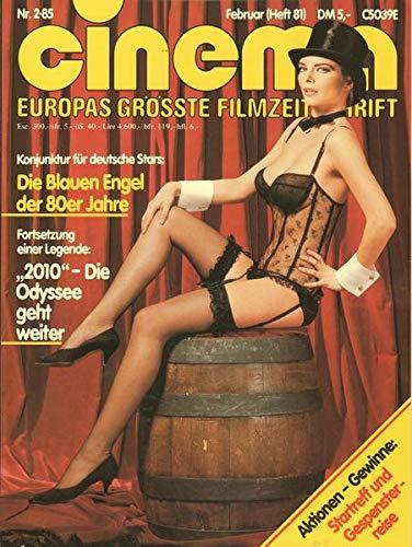 Cinema Nr. 02/1985 Konjunktur für deutsche Stars: Die Blauen Engel der 80er Jahre