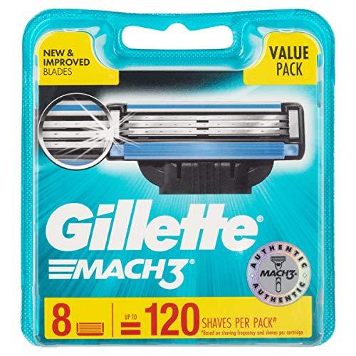 Auslaufmodell Gillette MACH3 Rasierklingen, 8Stück