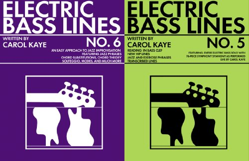 Electric Bass Lines No.5&6 (English Edition)
