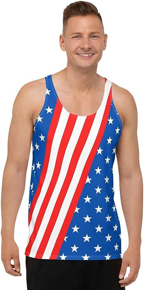 Proud American USA Flag Shirt Sale price Top Men's Un 5% OFF Men T-Shirt T