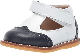 Elephantito Kids' Two Tone T Strap First Walker Shoe
