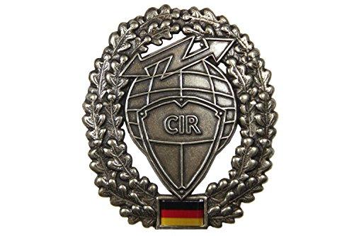 Unbekannt Barettabzeichen CIR von der Deutschen Bundeswehr Cyber- und Informationsraum KdoCIR Abzeichen Mützenabzeichen