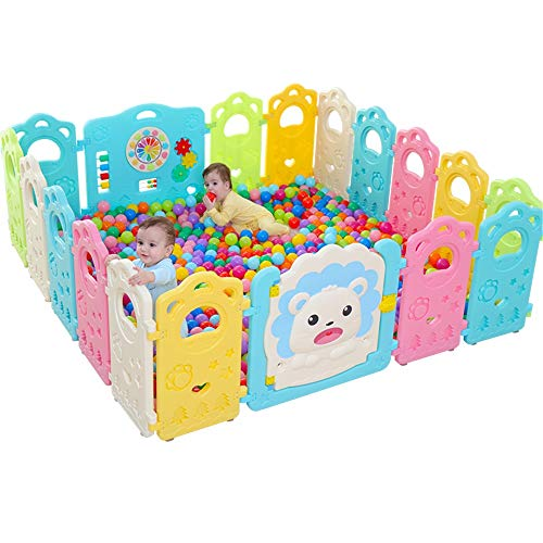 Find Bargain Baby Playpen Baby Learning to Walk Fence Indoor Amusement Park Thick High Children's Sa...