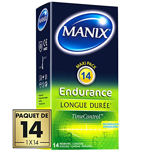 Manix ENDURANCE 14Extended Pleasure Delay Kondome