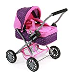 Bayer Chic 2000 555 40 - Puppenwagen Smarty, Dots Purple-Pink