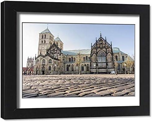 Media Storehouse Framed 14x11 Free shipping / New Photo of Market 2 Square Munster Popular