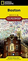 National Geographic Destination City Map Boston