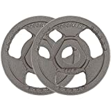 papababe Weight Plates 2-Inch Olympic Grip Plate...