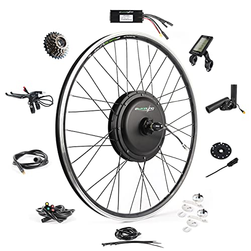EBIKELING Waterproof Ebike Conversion Kit 48V 1200W 700C Direct Drive (NOT 26') Electric Bike...