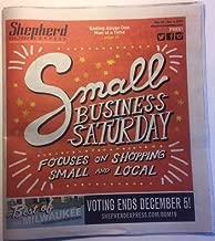 Shepherd Express (Milwaukee newspaper), November 28–December 4, 2019 (Small Business Saturday): River Valley Ranch, marijuana legalization, Wolski's, Frank's Power Plant (Bay View), Prometheus Trio