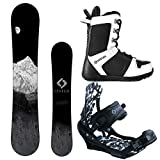 System MTN and APX Complete Men's Snowboard Package (156 cm, Boot Size...