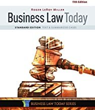Business Law Today, Standard: Text & Summarized Cases, Loose-Leaf Version