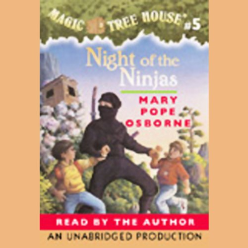 Night of the Ninjas audiobook cover art