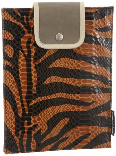 entertainbag Unisex-Erwachsene Tablet PC Cover co White Geldbörsen, Braun (Zebra - brown), 19x25x2 cm