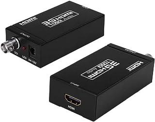 HDMI to 3G SDI コンバーター 1080P 60Hz hdmi sdi 変換 SMPTE 259M-C SMPTE 292M SMPTE 424M 425M-AB 対応 最大100m 3G-SDI 200m HD-SDI のSDI出...