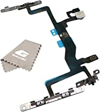 Switch On/Off Power Button + Volume Control + Flash Light Flex Cable Bracket Replacement Part for iPhone 6S