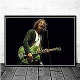 Amrzxz 1000 Piezas de Rompecabezas de Regalo『Cantante Masculino-Chris Cornell』Juguete de desafío de Rompecabezas para niños