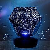 Lixada Lampada da Notte de Cielo Stellato Lampada Proiettore Galassia Cosmica per Bambini Camera da Letto...