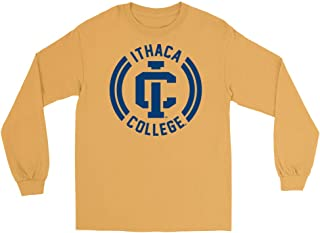Official NCAA Ithaca College Bombers - C82BO02 Mens/Womens Boyfriend Long Sleeve Tee