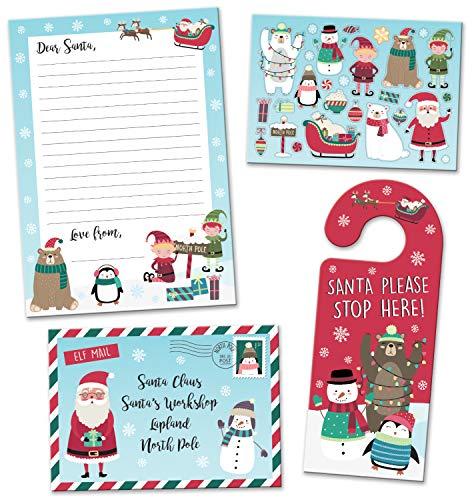 Paper Projects- Pack de Cartas de Navidad a Papá Noel con Colgador para Puerta (01.70.40.003)
