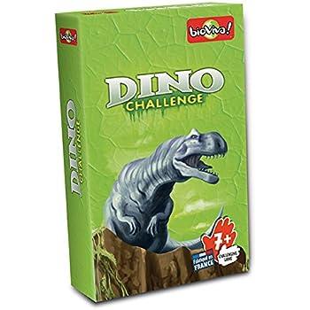 Bioviva- Juego de Cartas Dino Challenge, Color Verde (Asmodee ...