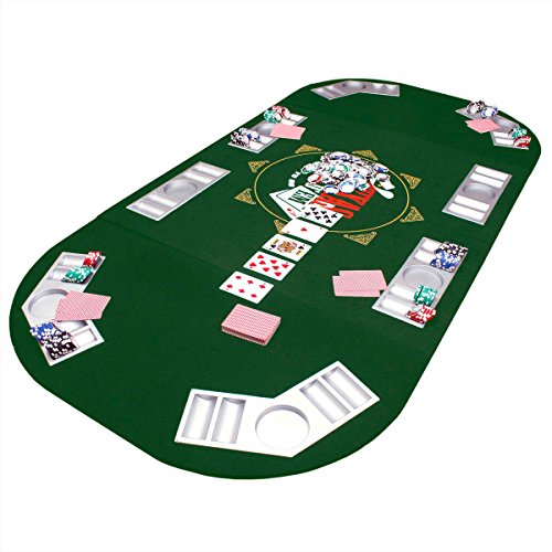 Coussin de table de poker 160x 80cm.