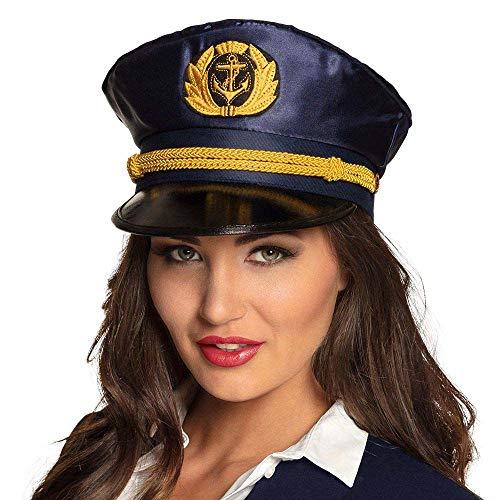 Boland-29250 Otro Sombrero Capitán Mujer, multicolor, Unitalla (Ciao Srl 29250)