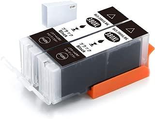 【KALOKING】互換Canonインクキヤノン Canon BCI-380 XL(2BK) 大容量 互換インクカートリッジ380 ICチップ 残量表示機能付き 対応機種: TS8330 TS8230 TS8130 TS7330 TS6330 TS6230 TS6130 TR9530 TR8530 TR7530 TR703