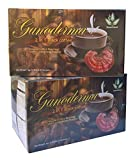 2 in 1 Classic Cafe Style Healthy Black Coffee with Ganoderma (2 Pack)