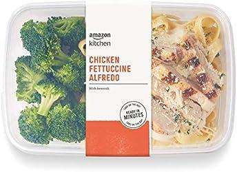 Amazon Kitchen, Chicken Fettuccine Alfredo with Broccoli, Single Serve Meal, 12 oz