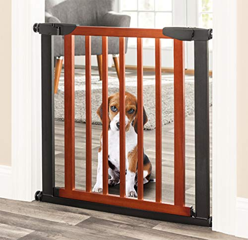 Palmer Dog Gate - Indoor Pet Barrier, Expandable to 40
