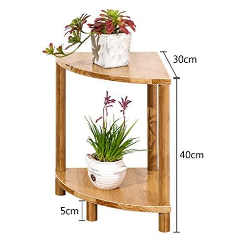 BOBE SHOP- Support simple de fleur de support de fleur de bambou simple moderne, support de fleur de salon de fleur de plate-forme succulente de fleur (taille : 40 * 30 * 30cm)