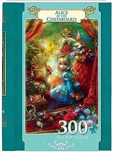 artículos novedosos Masterpieces EZ Grip Book Box Box Box Alice at the Chessboard Puzzle (300 Piece) by MasterPieces  60% de descuento