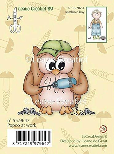 Leane Owlie's Clearstempel Uilen OWL964,