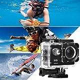 Chainscroll Videocamera Mini Videocamera Impermeabile Subacquea HD 1080P 12MP HD 1080P Videocamere subacquee
