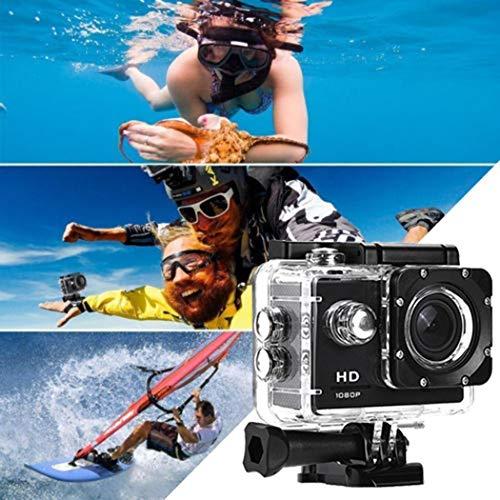 Videocamera Impermeabile Subacquea HD 1080P 12MP