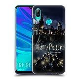 Head Case Designs Licenciado Oficialmente Harry Potter Castillo Sorcerer's Stone II Carcasa rígida Compatible con Huawei P Smart (2019)