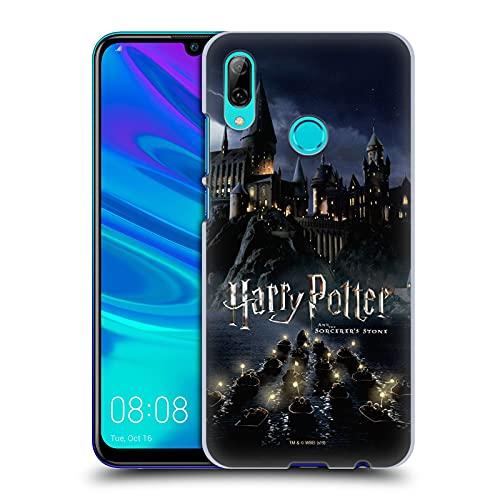 Head Case Designs Licenza Ufficiale Harry Potter Castello Sorcerer's Stone II Cover Dura per Parte Posteriore Compatibile con Huawei P Smart (2019)