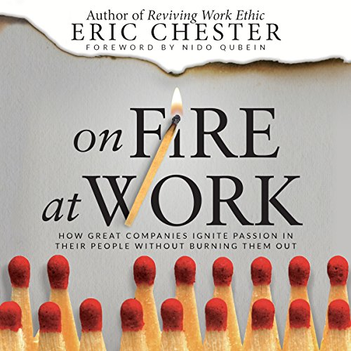 On Fire at Work audiobook cover art