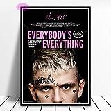 Lil Peep Alle Musik Film Hip Hop Star Poster Druck